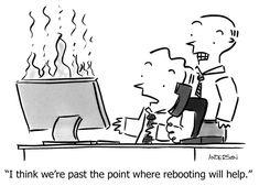 IT Support Joke Cartoons | Tech Toons | Bomgar