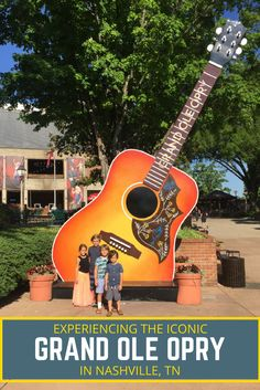 When in Nashville, TN you can't miss the iconic and unforgettable Grand Ole Opry! To add to the experience you will also want to do the backstage tour! via @Crazy Family Adventure