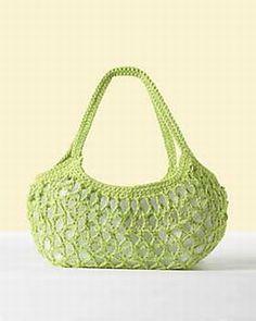 market bag - free crochet pattern