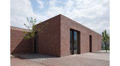 BRICK GARDEN WITH BRICK HOUSE - Work by Jan Proksa