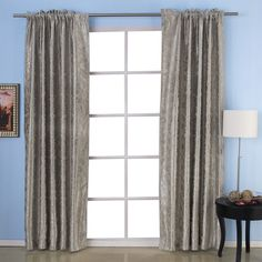 IYUEGO Memory Embossed Thermal Grommet Top Lining Blackout Curtains Drapes With Multi Size Custom W x L (One Panel) *** Click image for more details. (This is an affiliate link) Bedroom Drapes, Drapes Curtains, Drapery, Panel Saw, Cheap Curtains, Thermal Curtains, Room Darkening, Blackout Curtains, Cool Gadgets