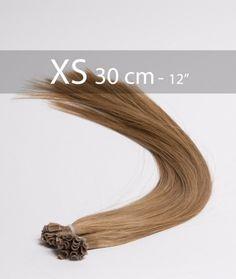 EXTENSIONS DE CHEVEUX à Chaud 30 cm - Châtain 8