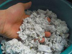 como hacer arena de gato natural Más