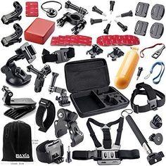 BAXIA TECHNOLOGY Accessories for GoPro HERO 4 3+ 3 2 1 SJ4000 SJ5000 SJ6000 Sports Camera, Black/Silver BAXIA TECHNOLOGY® http://www.amazon.com/dp/B00VBO0BNU/ref=cm_sw_r_pi_dp_FCTnwb1W2TJ03
