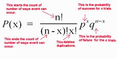 Binomial distribution Calculus, Algebra, Binomial Distribution, Engineering Subjects, Statistics Math, Physics Formulas, Research Writing, Third Grade Science, Fun Math