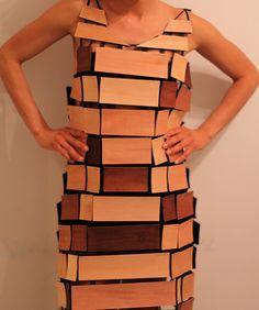 Knock, knock on wood veneer Knock On Wood, Knock Knock, Weird Fashion, Body Image, Design Elements, Peplum Dress, Fabric, Third Rail, Clothes