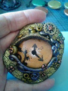 Steampunk Dragon Eye created by Steampunk Amore