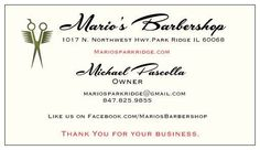 In Park Ridge? Check them out! #ParkRidge #haircuts #barbershop #mariosparkridge.com #hotlathershaves