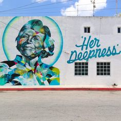 """@pangeaseed @seawalls_Murals for Oceans guest artist  @hueman_ (USA)  finished mural with hand lettering by @pro_gress in Cozumel, MX  is a tribute to…"""