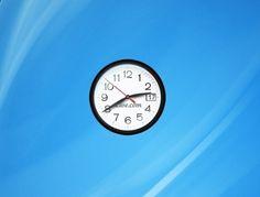 Live Clock Windows 7 Desktop Gadget http://win7gadgets.com/clock/live_clock.html  #clock, #windows7, #gadgets, #desktop
