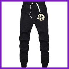 Casual Funny Print Dragon Ball Goku Mens Pants Cotton Autumn Winter Gray  Men Joggers Sweatpants Plus Size Black Trouser pantalon 76d485334a6