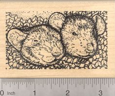 Rat and Mouse Rubber Stamps (RubberHedgehog.com)
