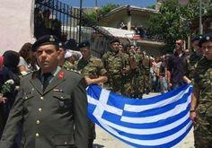 Πρωτοφανές επεισόδιο στην κηδεία του νεαρού μουσουλμάνου στρατιώτη στη Γλαύκη ( video)