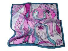 Fesd meg saját selyemkendődet a kezdő selyemfestés tanfolyamon!  www.silkyway.hu/selyemfestes-tanfolyam Silk Painting, Alexander Mcqueen Scarf, Fashion, Ideas, Silk, Pintura, Scarf Head, Scarves, Moda