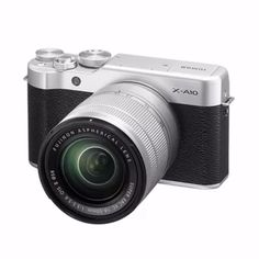 ราคาถูก  Fujifilm X-A10 with 16-50mm Lens  ราคาเพียง  18,900 บาท  เท่านั้น คุณสมบัติ มีดังนี้ 16.3MP APS-C CMOS Sensor 180° Tilting LCD & Portrait Enhancer for Selfie Full HD 1080p Video Recording Eye Detection AF and Portrait Enhancer Wi-F