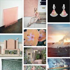 Peach Hybiscus via Stylesight
