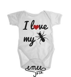 I Love My Aunt baby girl clothes baby boy clothes