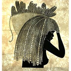 'Girl from the Shamba' Heidi Lange Screen Print (Kenya)   Overstock.com Shopping - Top Rated Global Crafts Wall Hangings