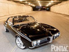 1968 Pontiac Firebird - Custom Pro-Touring First Gen Bird - High Performance Pontiac Magazine - Hot Rod Best Muscle Cars, American Muscle Cars, American Racing, Muscle Mass, Us Cars, Sport Cars, Convertible, Pontiac Cars, Pontiac Firebird Trans Am