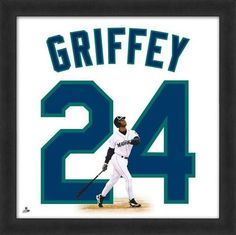 3ee2fd0c4b0 Ken Griffey Jr. Framed Seattle Mariners 20x20 Jersey Photo