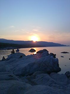Sunset in Greece by Briela Gabriella