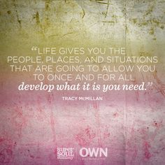You are what you think. Great Quotes, Quotes To Live By, Me Quotes, Inspirational Quotes, Tracy Mcmillan, Trauma, Super Soul Sunday, New Beginning Quotes, Journey