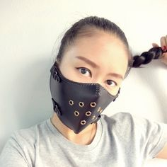 Half Face Mask Wind and Snow Protection for sports bike motorcycle ski brand The Raw by TheRawCustomize on Etsy