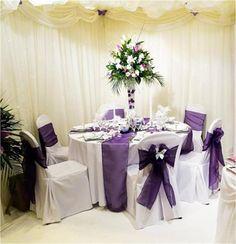 Purple table ideas