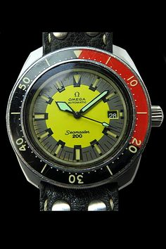 Omega Seamaster 200 Divers Watch Big Watches, Sport Watches, Watches For Men, Wrist Watches, Omega Railmaster, Omega Planet Ocean, Seamaster 300, Moon Watch, Speedmaster Professional