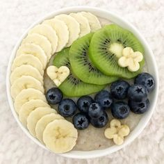 We have a little question to you: What kind of posts would you like to see? Pleace let us know! Today's oatmeal is topped with banana, kiwi and blueberries. Blueberries, Lunch Ideas, Kiwi, Acai Bowl, Smoothies, Oatmeal, Banana, Positivity, Posts