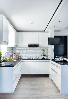 5 All-White Kitchens Perfect For Minimalists