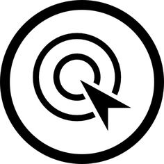 Pay per click optimization symbol in a circle free vector icons designed by SimpleIcon Website Development Company, App Development, Vector Free, Vector Icons, Seo Company, Mobile App, Digital Marketing, Flat Icons, Symbols