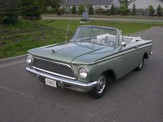 1961 Rambler convertible Maintenance/restoration of old/vintage vehicles: the material for new cogs/casters/gears/pads could be cast polyamide which I (Cast polyamide) can produce. My contact: tatjana.alic@windowslive.com