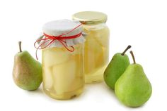 Pears for the winter / Amazing Cooking Greek Sweets, Citric Acid, Vanilla Sugar, Light Recipes, Preserves, Cucumber, Yummy Food, Delicious Recipes, Coconut