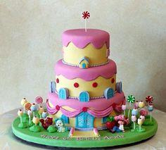 Cute birthday cake cake