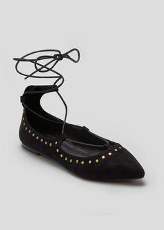 Pinstud Ghillie Ballet Shoes