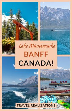 If you are planning a trip to Banff National Park in Canada, don't miss going on a cruise on Lake Minnewanka. This detailed guide will inspire an unforgettable cruise experience. #Canada #BanffNationalPark #Alberta #LakeMinnewanka Backpacking Canada, Canada Travel, Travel Usa, Canada Holiday, Canada Destinations, Banff Canada, Road Trip Hacks, Travel Guides, Travel Tips