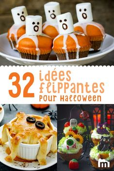 Halloween, # it& # the occasion # deliciously # # # Halloween Desserts, Halloween Cupcakes, Halloween Treats For Kids, Desserts To Make, Halloween Food For Party, Easy Halloween, Halloween 2020, Halloween Decorations, Biscuits Halloween