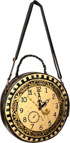 Banned Apparel - Clock Circular Round Bag - Buy Online Australia Beserk