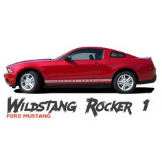 2005 2006 2007 2008 2009 Ford Mustang Side Hockey Stripe Graphics Style 3