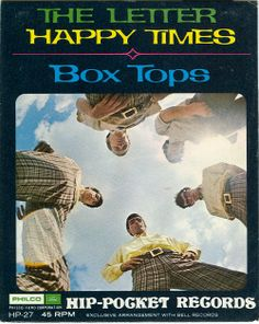 "The 'Box Tops' were a Memphis rock group from the 1960s. They are considered a major blue-eyed soul group of the period. ""The Letter"" was a no.1 hit in 1967 for them and retained on the top for a total of four weeks. 'The Box Tops' sold more than one million copies of ""The Letter"" and received a gold disc. At only 1 min 58 sec, ""The Letter"" is one of the shortest songs to top the chart. Singer Alex Chilton was only 16 years old when recording ""The Letter""."