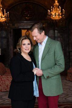 groorhertog henry en groothertogin maria tersa Maria Teresa, Grand Duke, Royals, Blazer, Formal, Jackets, Weddings, Fashion, Luxembourg