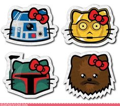 star wars hello kitty--for kiki!