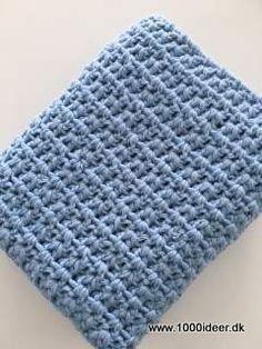 Klik for at se et større billede Free Crochet, Knit Crochet, Crochet Kitchen, So Creative, Needlework, Diy And Crafts, Crochet Patterns, Crafty, Knitting