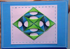 string art on card