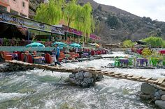 Day Trip to High atlas Mountains from Marrakesh Per Person. The cheapest and excellent shared group from Marrakech. Marrakech, Beautiful Places To Visit, Great Places, Places To See, Agadir, Famous Waterfalls, Desert Tour, One Day Trip, Famous Places