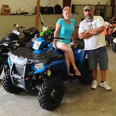 Thanks to Joilynn and Joel Mechanic from Vancleave MS for getting a 2016 Polaris Sportsman 450 at Hattiesburg Cycles