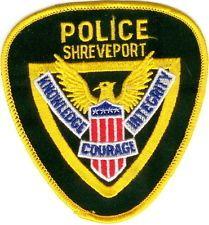 Shreveport Police Patch Louisiana