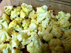 Oven Roasted Cauliflower | Blogghetti