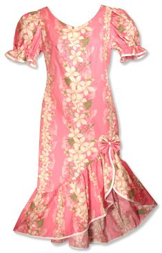 Makani Passion Hawaiian Dress